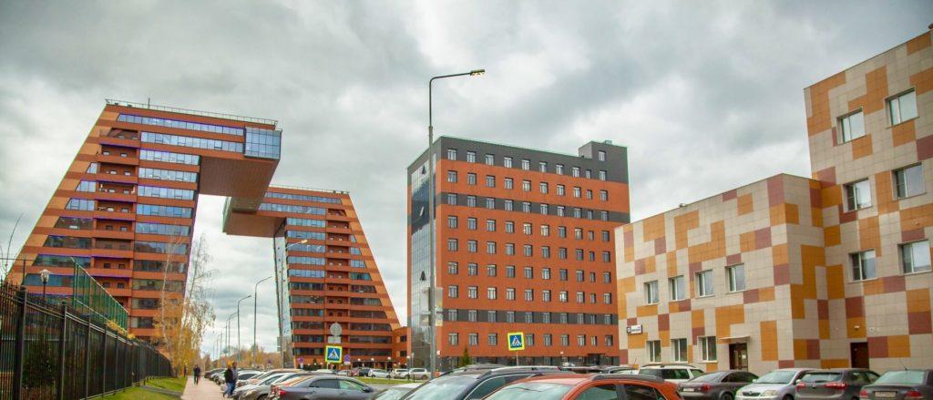 Фотография здания, в котором распологается компания ООО ДНК Дисплей